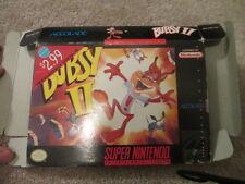 Bubsy II (Super Nintendo SNES) Box Only