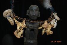 "SALE! IFUGAO SHAMANS necklace, INCRUSTED 16"" PROV"