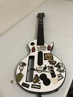 Nintendo Wii Guitar Hero Gibson Les Paul Wireless Controller Tested No Back