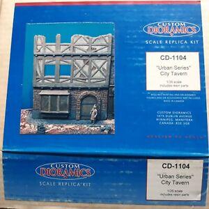 """Custom Dioramics cd 1104 1/35 """"Urban Séries"""" City Tavern Diorama"""