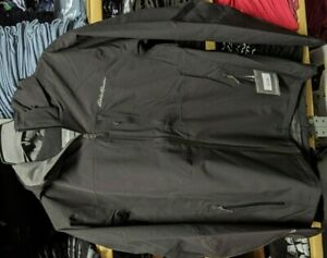 * Eddie Bauer All-Mountain Stretch Jacket, Men's Med Black NWT