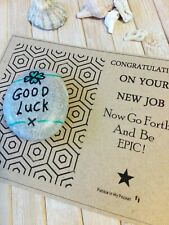 Good Luck Congratulations New Job charm gift keepsake present token Be Epic