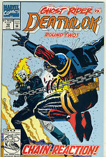 Marvel Comics Deathlok #10 (April 1992) - Ghost Rider Vs Round Two)