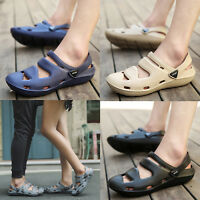 Men's Womens Casual Flat Sandals Beach Water Shoes Non Slip Slippers Sports Shoe