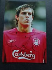 Daniel Agger Hand Signed 6x4 Photo Liverpool