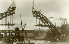 More details for real photo postcard construction of tyne bridge, newcastle 1928, northumberland