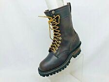 Whites Hathorn Explorer Brown Boots Leather Packer Logger Woodland Mens Sz 7.5 D