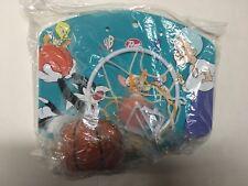 WB Kids Post Promo Looney Tunes Pinky The Brain Basketball Hoop Net New MIP 1997