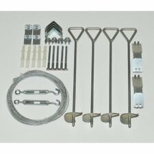 Palram HG1029 Anchor Kit for Palram Nature Series Greenhouses, Silver
