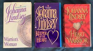 Johanna Lindsey Ly-San-Ter Family Series Heart Warrior Keeper Woman