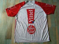 T SHIRT CYCLISTE PUB TOUR DE FRANCE VITTEL A VOUS LE TOUR ! TAILLE/L/D6 TBE