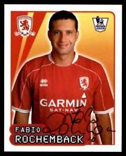 Merlin Premier League 2007/08 Fabio Rochemback Middlesbrough No. 415