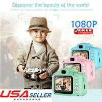 Children Digital Camera Mini 1080P HD Kids Camcorder Video Recorder Xmas Gift AU