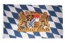 Fahne Deutschland Bayern Freistaat Flagge bayerische Hissflagge 90x150cm