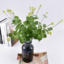 3pcs Eucalyptus Bunch Artificial Plants Money leaf Home Wedding Art Decor