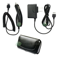 Wall AC+Car Charger+Case Phone for Samsung u750 Alias 2