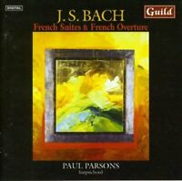 Paul Parsons - Harpsichord - French Overture and French Suites by Bach [CD]