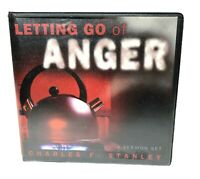 Letting Go Of Anger By Charles F. Stanley Sermon Set on 4 CDs InTouch Ministries