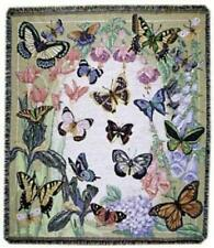 Simply Home Butterflies are Free Tapestry Throw Blanket