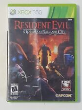 Resident Evil: Operation Raccoon City - Xbox 360 Video Game CIB Complete
