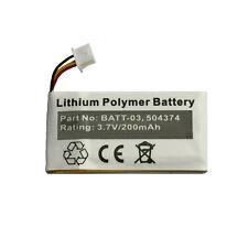200mAh 504374 Battery for Sennheiser DW Office, OfficeRunner, SD Office Headsets
