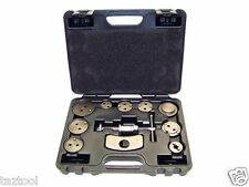 11pc Universal Caliper Disc Brake Wind Back Pad Piston Compressor Tool Kit Set