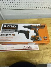 Ridgid Brushless 18V Drywall Screwdriver w/ Collated Attachment 2.0Ah Battery