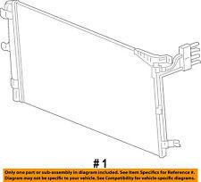Jeep CHRYSLER OEM A/C AC Condenser, Compressor Line-Condenser 68314789AA