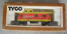 Vintage Ho Scale Tyco Chattanooga 40' Caboose Car in Box