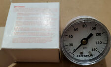 "NEW Ashcroft 20W1005H01B160# 160 Psi Pressure Gauge 2"" 1/8 20W 1005 H 01B 160#"