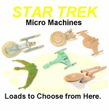 Vintage Star Trek Micro Machines ~ LOADS TO CHOOSE FROM ~ Vehicles