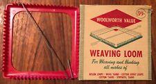 New ListingVintage Woolworth Weaving Loom