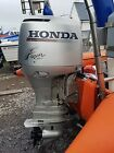 honda bf130 outboard engine breaking, cowling, tilt and trim, four stroke