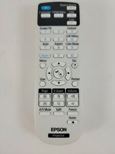 Epson Projector Remote Control 217702300  Tested and working  Free Shipping!