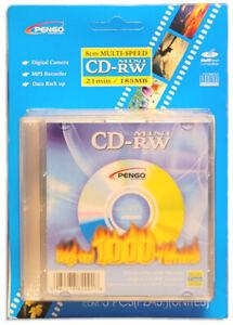 5-Pak 3-Inch 8cm 1X-4X Mini CD-RW's for Sony Mavica Cameras by Pengo