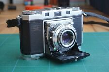 Zeiss Ikon Contina II folding with 45mm f2.8 Tessar - 35mm camera - film tested