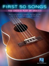 First 50 Songs You Should Play on Ukulele Sheet Music Ukulele Book NEW 000149250