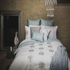 100% Cotton Percale Quilt Doona Duvet Cover - Embroidery - King Size