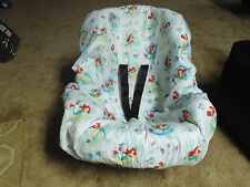 Little Mermaid (Disney) toddler car seat cover-handmade--car seat not included