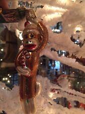 Old World Christmas-Sock Monkey Ornament