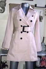 NWOT New York & Company Salmon (Light Pink) Trench Coat Sz XS