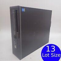 Lot of 13 HP ProDesk 400 G1 (SFF) i3-4130 3.4GHz 0-500GB HDD 0-8GB RAM NO OS