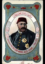 EMPIRE OTTOMAN / SULTAN ABDUL ASIS KHAN / Buste illustré
