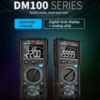 MESTEK DM100C Analog Digital Multimeter True RMS NCV Automatic Multimeter PQ
