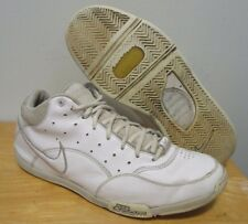 RARE 2008 Nike Air Zoom Hoop LE Low White Steve Nash PE Basketball Shoes size 11