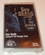 Living in the Danger Zone by Son Seals (Cassette 1991, Alligator Records) NEW