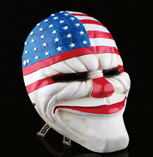 Payday 2 Game Dallas Cosplay Mask Heist Joker Costume Props Halloween Scary Mask
