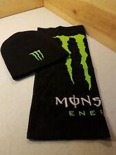 Monster Energy Beanie And Handtowel Set