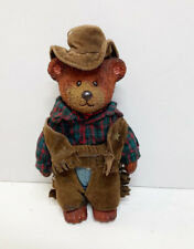 Russ Berry Cowboy Sheriff Dressed Bear Figurine