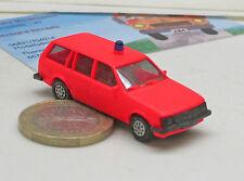 Herpa 04066 :OOpel Cadet D Mobil home, Pompier Rouge vif